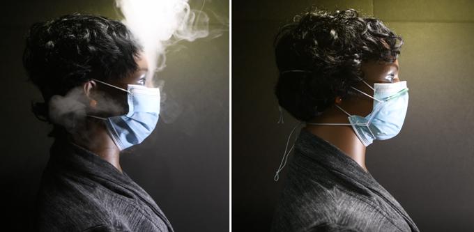 Máscaras de fluxo ar