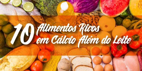 10 Alimentos Ricos em Cálcio Além do Leite