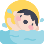 gastroenterite na piscina